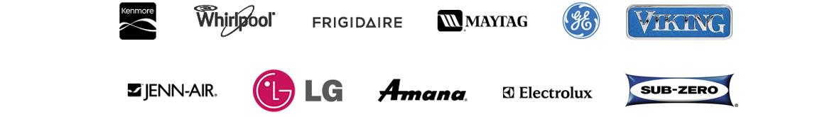 The brands we repair